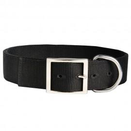 Stilvolles Halsband Nylon für Labrador mit Adresse handgefertigt