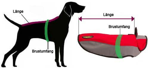 Hundemantel Labrador