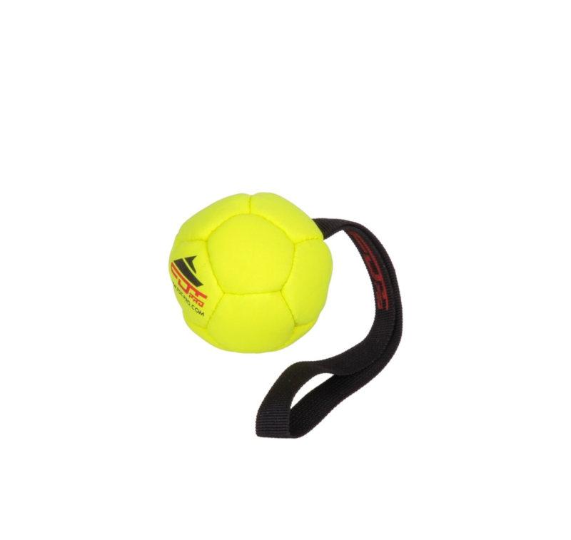 Hundespielzeug Ball aus synthetischem Leder fuer Labrador