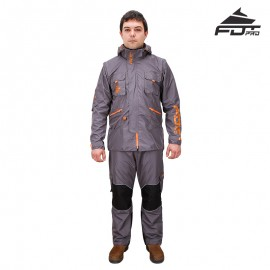 "Trainer Suit made of Nylon ""Dress'n'Go"" Any Weather"