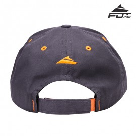 "Dunkel-graue Kappe aus Baumwolle ""Train-in-Style"""