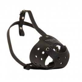Leather Labrador Muzzle for Daily Use