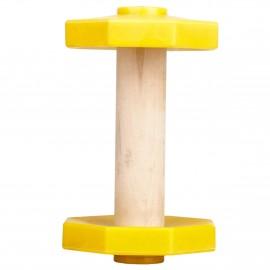 Apportierholz mit farbigen Gewichtsplatten 650 gr.