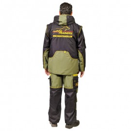Black-light green Protection Scratch Suit Fordogtrainers