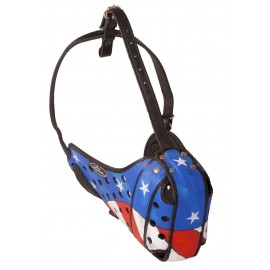 Exclusive Labrador Muzzle with Stars and Stripes