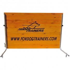 Fordogtrainers Sprunghürde aus Holz y Meter