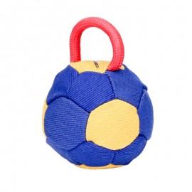Hochqualitatiiver Beißball aus French Linen mit 1 Handschlaufe