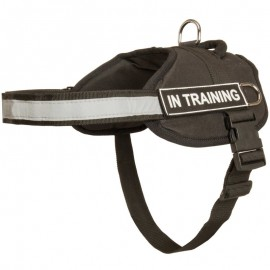 Service Nylon Dog Harness with Reflective Strap