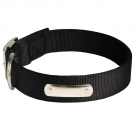 Nylon Collar Name Plate for Labrador Identification