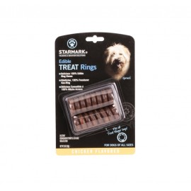 """Edible TREAT Rings""  for Starmark Dog Toys"