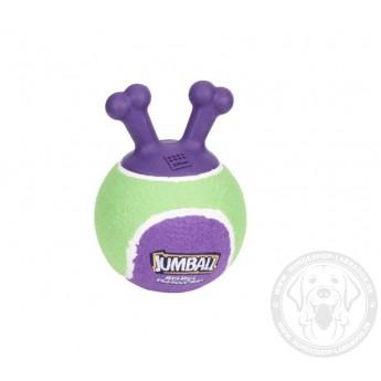 "Hundeball mit Gummigriffe ""Jumpball"" 13 cm für Labrador"
