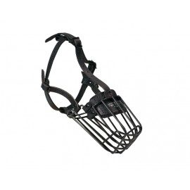 Labrador Basket Muzzle with polymeric covering