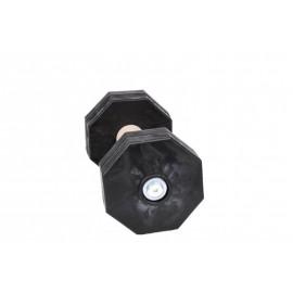Appotierholz mit Gewichtsplatten aus Kunststoff schwarz