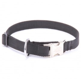 Nylon Adjustable Labrador Collar with Metal Buckle
