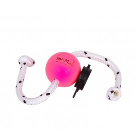 Top-Matic Fun Ball Puppy SUPER SOFT pink+Multi Power Clip