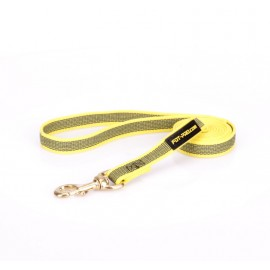 Dog Lead Made of Nylon for Labrador in Yellow