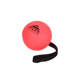 Orange synthetic Leather Dog Ball for Medium dogs,12 cm