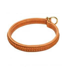 Zughalsband aus Leder für Labrador für Hundeerziehung und Dressur