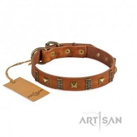 Labrador FDT Artisan Halsband mit Verzierungen im Barockstil