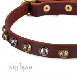 FDT Artisan Designer Halsband mit Mix Halsbsphären