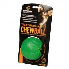 Hundeball Gummi für Labrador für interaktive Fütterung, gefahrlos