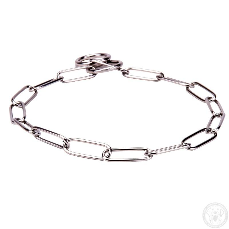 ... Kette Halsband aus rostbeständigem Stahl für Labrador Erziehung ... 649a090fb7eb3