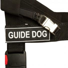 Blindenführhundgeschirr Nylon K9 für Labrador bequem handgefertigt