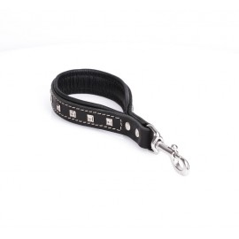 Short Leather Pull Tab with soft padding