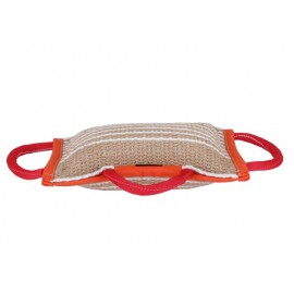 Jute Bite Pillow Medium  for Dog Training