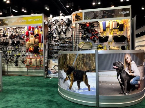 Fordogtrainers an der Orlando Pet Expo